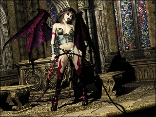 Traditional Succubus Depiction
