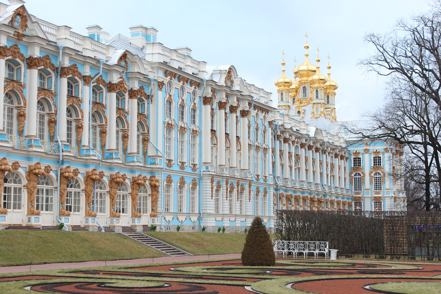 Catherine Palace and Amber Room