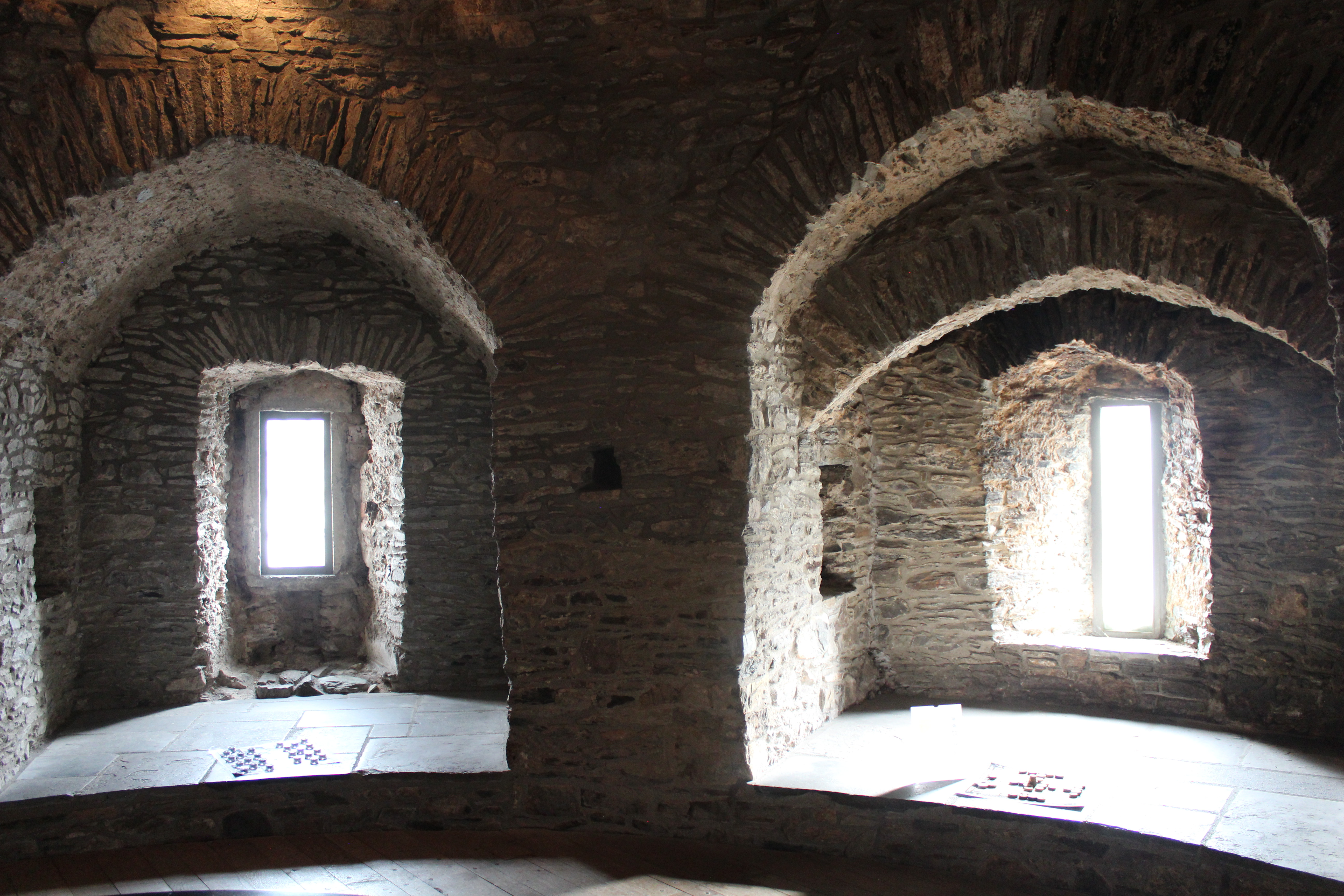 Inside Reginalds Tower in Waterford
