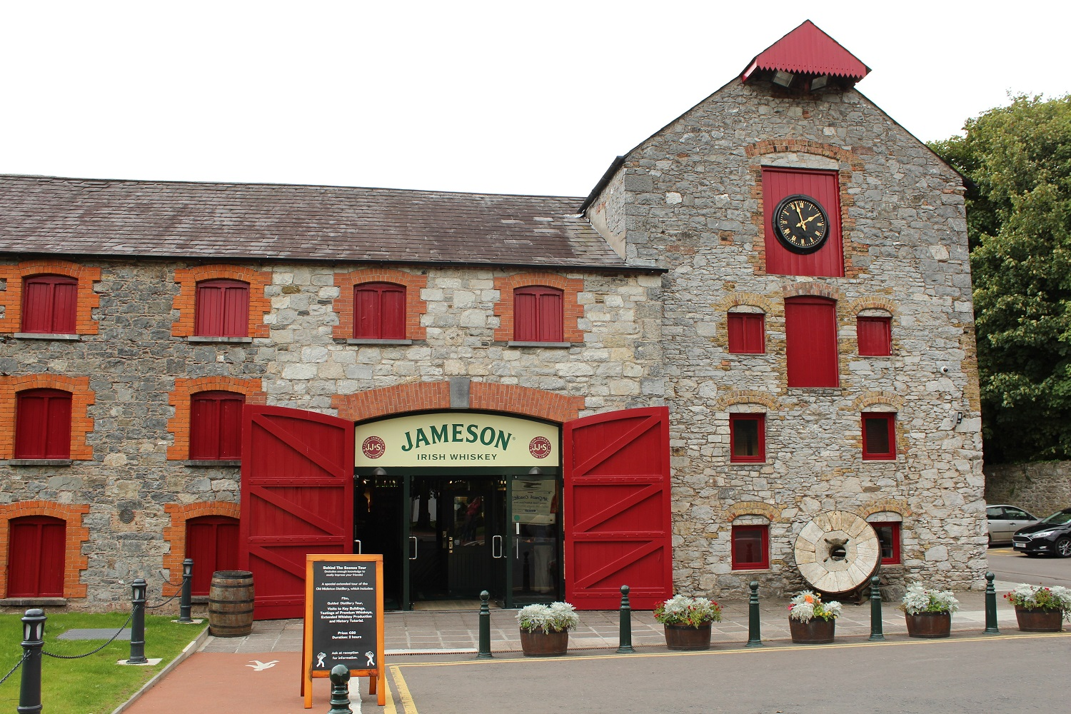 Jameson Distillery in Midleton
