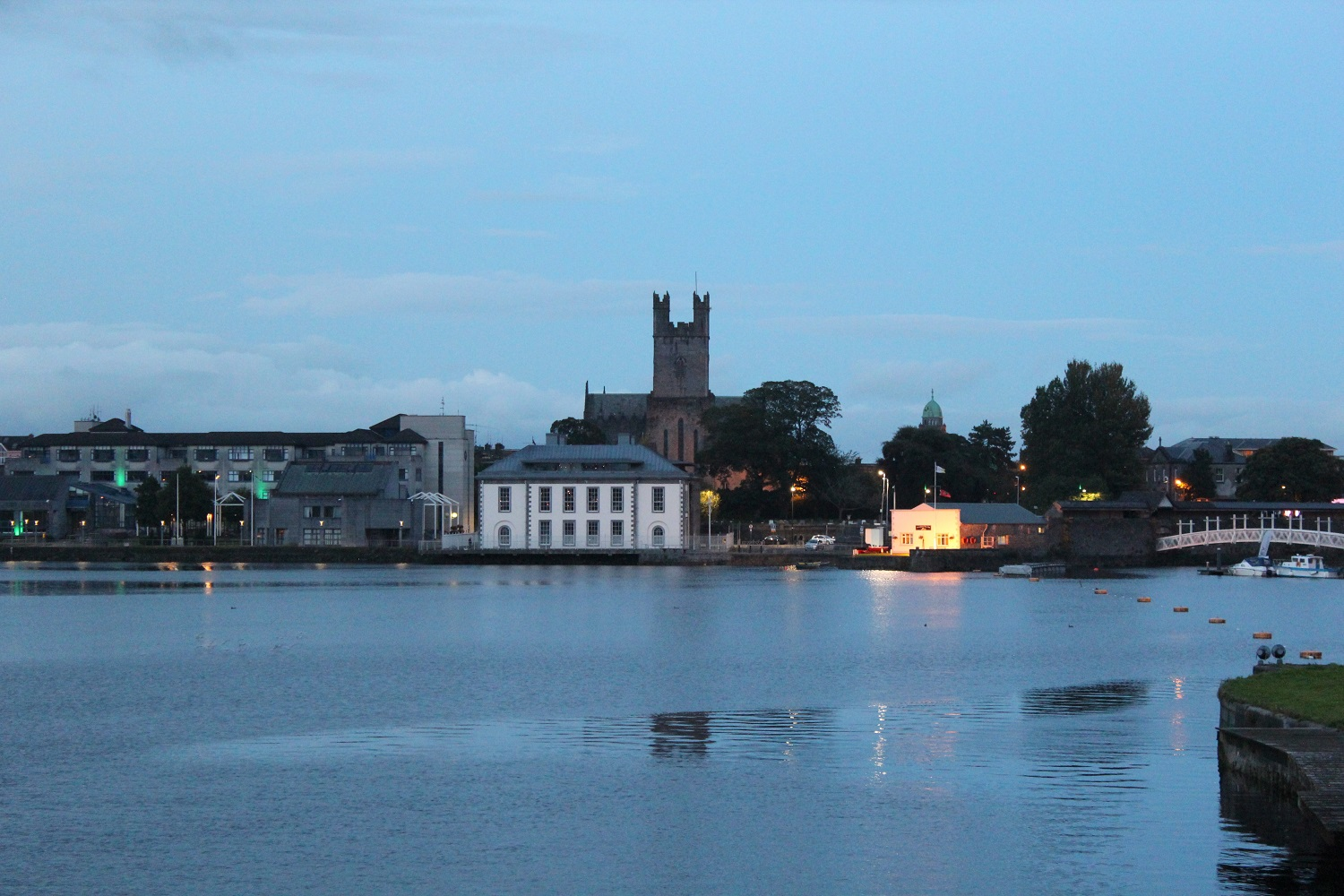 View on St. Marys Cathedral in Limerick