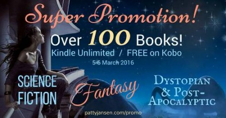Kindle Unlimited/Free on Kobo promotion 5-6 March 2016